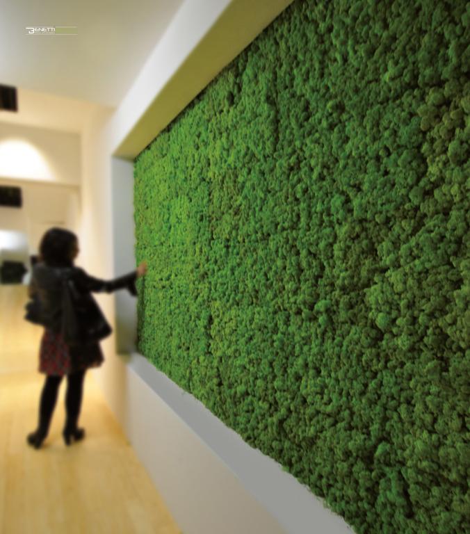Zielone Sciany Z Mchu Pracownia Architektury Krajobrazu Justyna